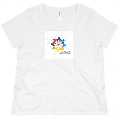 Women's Plus Short Sleeve Logo Only