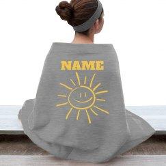 Sunshine blanket - personalized