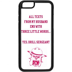 Drill Sergeant Pink iPhone 6 Case