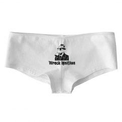 Bella White Basic Hotshort Underwear