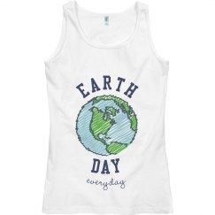Earth Day Globe Tank