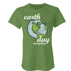 Earth Day Globe Tee
