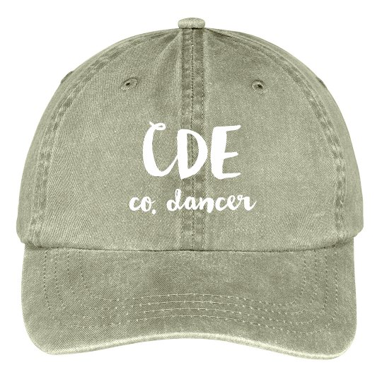 CDE co. dancer Hat
