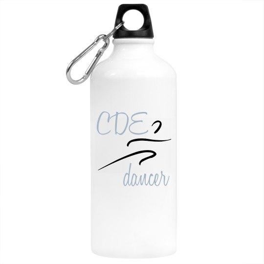 CDE dancer Water Bottle