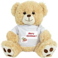 Merry Christmas Soft  Bear