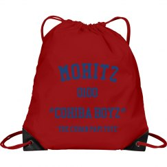 CUBAN PAPI COHIBA BOYZ TOTE BAG(RED)