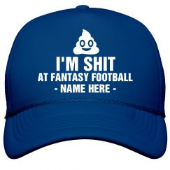 Fantasy Loser Glitter Name Hat