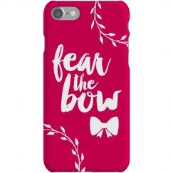 Fear The Bow Cheer Phone Case