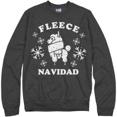 Fleece Navidad Llama