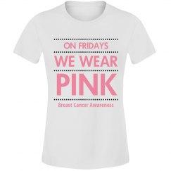 """THINK PINK"" Shirt"