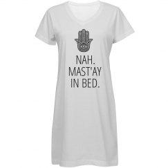 Namast'ay in Bed PJ Shirt