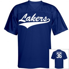 Custom lakers name and number Jersey