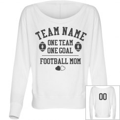 Custom Football Team Mom Shirt