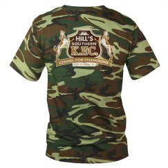 Camo Tee 1-Sided Back Logo