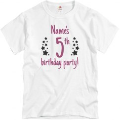 Sean's 5th Birthday