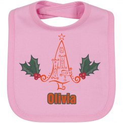 Baby First Christmas Bib