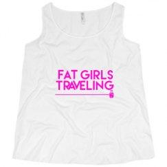 Ladies Curvy Plus Size Tank Top