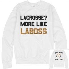 Custom Metallic Lacrosse La-Boss
