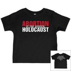 Toddlers Abortion Is The Hidden Holocaust