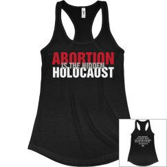 Abortion Is The Hidden Holocaust Womans Tank