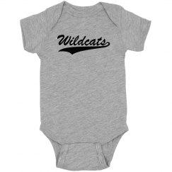 Wildcats onesie