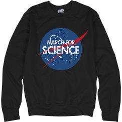 March For Science & NASA Logo