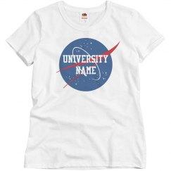 Custom University NASA Grad Gift