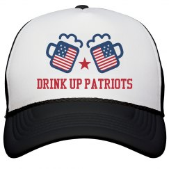 Fourth of July Drinking Hat