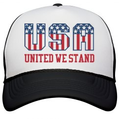 USA America United We Stand Hat
