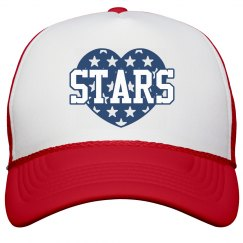 Matching Stars & Stripes Hats