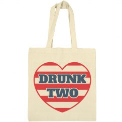 USA Matching BFF Drunk Bags