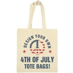 Custom USA America Tote Bags