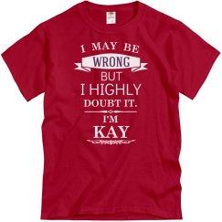 I'm Kay