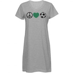 Peace, Love, Soccer -