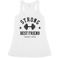 Custom Sports Strong Best Friend