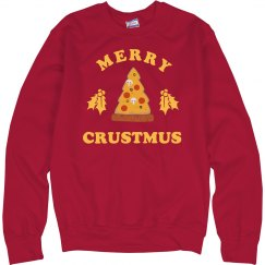 Merry Crustmus Christmas Sweater