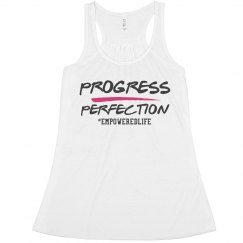Progress Over Perfection tank