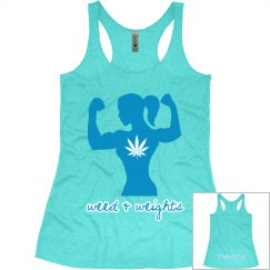 Weed & Weights Tank