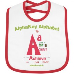 AlphaKey™ Bib - A