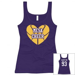 Mesa Cheer loves Basketball