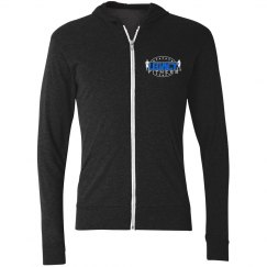 Legacy Ladies Zip Up Hoodie (Logo Front)