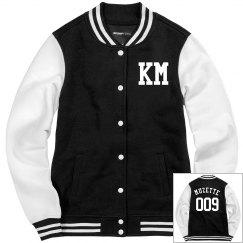 Muzette 009 Varsity Jacket