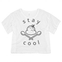 Stay cool Ice Cream Sundae