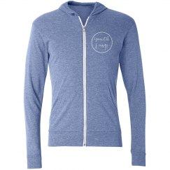 YOL zip up hoodie