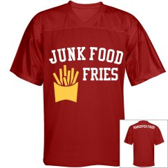 JUNK FOOD Cheese & Tomato Fries Jersey
