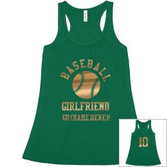 Gold Baseball Girlfriend