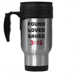 Christian FOUND LOVED SAVED 3:16
