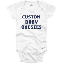 Custom Baby Onesies
