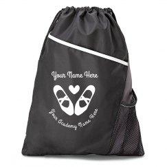 Custom Dance Drawstring Bag