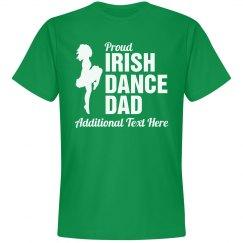 Proud Irish Dance Dad Custom